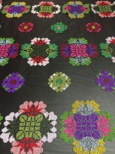 衣服および段階の衣類のための多彩な各国用様式の刺繍のレースファブリック