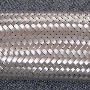De gesloten Geworpen Slang van het Roestvrij staal met Vlecht 304
