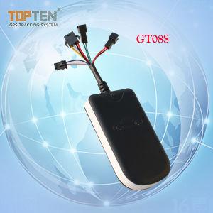 Deux façon de parler d'alarme de voiture GPS avec le RFID Tag ID de pilote, porte ouverte alerte, enregistreur de données hors ligne (GT08S-EZ)