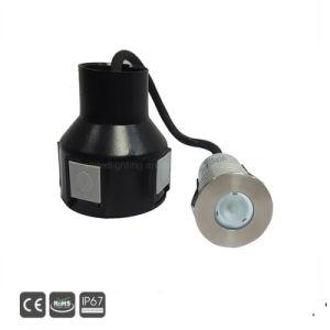 3W LED quadratisches Inground Plattform-Licht
