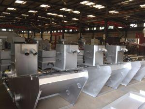 Винт Multi-Plate нажмите обезвоживания осадков машины в текстильных отходов