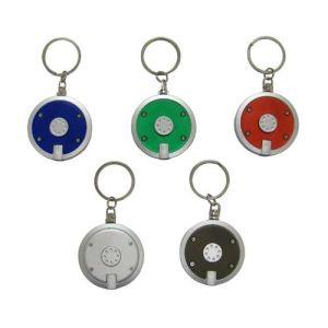 カスタム赤い中心の形のキーの電話ホールダーのクラフトによって個人化されるギフトLEDのキーホルダー(088)