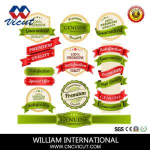 Виниловые наклейки с логотипом плоттер резки рулона