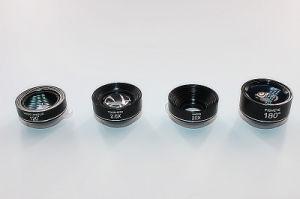 4 in 1 Telefon-Objektiv-breitem Objektiv-Makroobjektiv