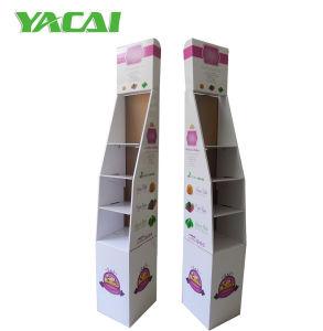 El papel de peso ligero Conectar Exposición Piso Rack de soporte de pantalla