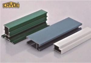 Profilo di alluminio per fare i portelli e Windows alluminio di alluminio industriale della finestra di scivolamento della cucina di profilo