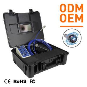 Rete di tubazioni per video rilevazione con la macchina fotografica del CCTV di Digitahi