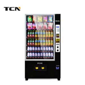 Npt (OEM) Preto Branco Cor e material de aço inoxidável Snack Automática máquina de venda automática de bebidas