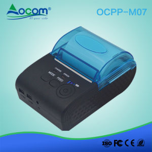 OCPP-M07 58mm Mini Bluetooth portátil Mobile Impressora Térmica