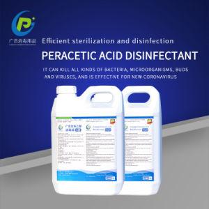 Air liquide désinfectant Acide peracétique de solution pour les hôpitaux 2,5 kg