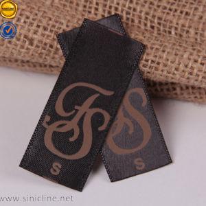 Sinicline Couture Impression des étiquettes en tissu coton coloré Etiquette tissée accepter Custom