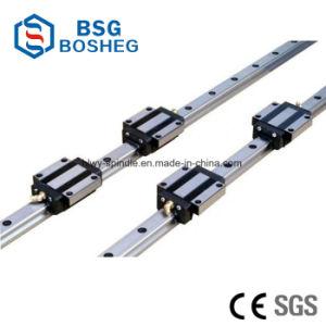 Rodamiento de movimiento lineal negro guía lineal de la CNC para corte por láser Máquina (Hsr20LR)