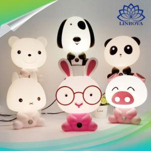かわいい動物の形LEDの軽い漫画ランプLEDの装飾ランプLEDの卓上スタンドの本ライト