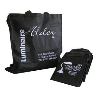Impreso laminado ecológicas bolsas de compras (YH-NWB098)