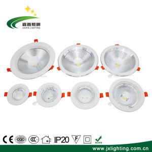 PANNOCCHIA di alluminio di 5W 7W 9W 12W 15W 20W 30W Dimmable messa giù indicatore luminoso
