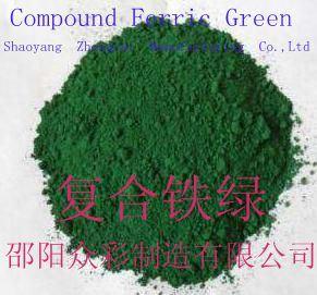 Ijzer Groen van de samenstelling