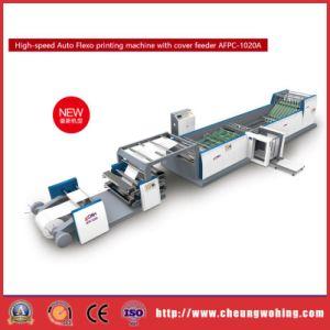 Fabricação de livros de exercícios de alta velocidade e máquina de impressão flexográfica