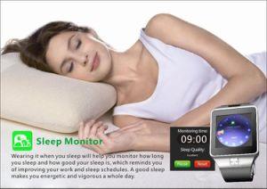 GSM/GPRSネットワーク人間の特徴をもつスマートな腕時計をするOEM Manufacter Bluetooth音楽