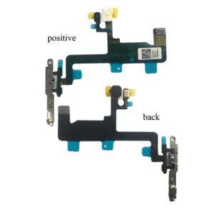 Substituição do telefone celular Flex de fábrica para venda por grosso Sunwing Botão Power Flex Cable a alimentação do interruptor Onoff Cabo Flex com RoHS para iPhone 6--Preto