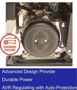 de Draagbare Generator van de Benzine 2.0kw 5.5HP met Ce- Certificaat
