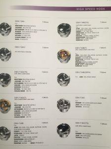 Fornecedor chinês de Peças para máquinas de costura para o gancho (7.94A BTR)