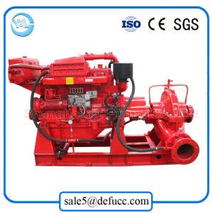 Doppeltes Antreiber-aufgeteiltes Gehäuse-zentrifugale Bewässerung-Pumpe mit Dieselgerät