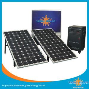 Listo el Sistema de alimentación solar portátil (SZYL-SPS-500)