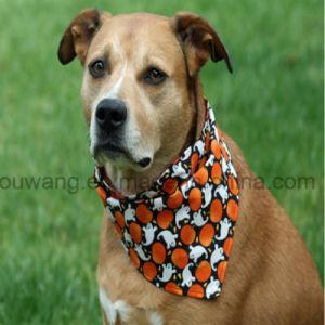 祝祭のギフトの安い伸張ポリエステル三角形犬のバンダナ