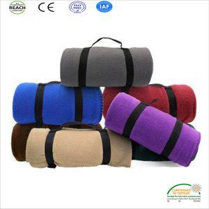 卸し売り快適な北極の羊毛の屋外毛布、ピクニック毛布