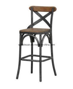 Cafe Massif Loisirs Chaise Tieyi Bar Haute En Bois mnvN80w