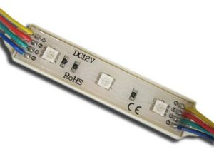 RGB LED impermeable Module (5050SMD, IP65) (5050-M3RGB)