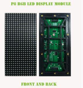 Outdoor P8 de la publicité pleine couleur LED LED affichage sur le mur vidéo de panneaux