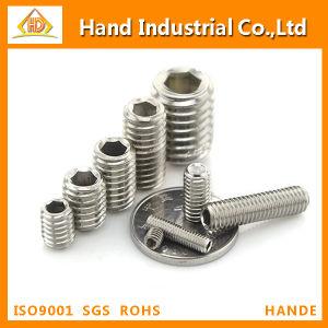 DIN916 304 en acier inoxydable hexagonale sans tête sans vis