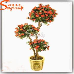 Quility Alta Decoração planta artificial Topiary Bonsai