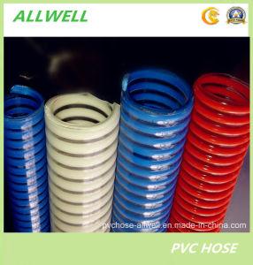 PVCプラスチックによって補強される螺線形の吸引の粉水庭の管のホース