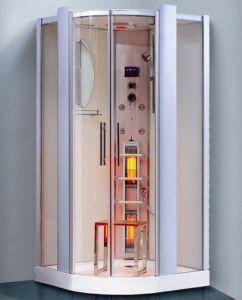 Ducha de vapor de infrarrojos de habitaciones (K025 serie Pico)