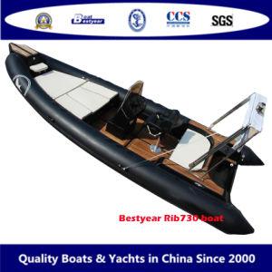 Nouveau modèle de bateau RIB730