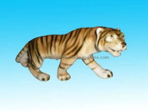 Tigre de porcelana Decoração