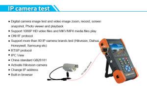 Hybrider CCTV-Prüfvorrichtung-Monitor mit IP-Kamera-und HD-Tvi Kamera-Prüfvorrichtung-Funktion
