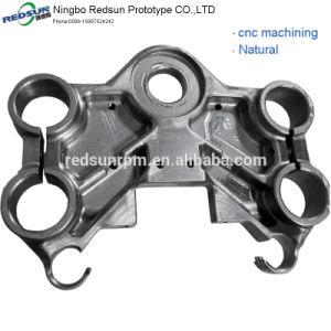 2018 Nuevo diseño de color rojo-CNC de piezas de aluminio Anodize-040