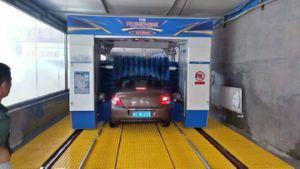 Capotamento da máquina no sistema de lavagem de automóveis do Gantry