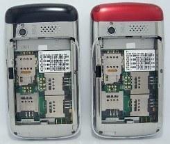 Vier SIM Kaarten Vier F160 Mobiele Telefoon Standy