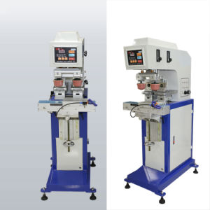 2개의 패드 En Y200d/2를 가진 단 하나 색깔 패드 인쇄 기계