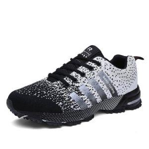 Ботинки черных тапок женщин идущих ботинок пятницы Unisex резиновый напольные признавают перевозку груза падения Paypal