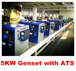 5kw Generator con ATS Silent Type con Best Price e Highquality