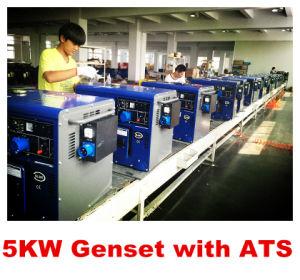 5kw Generator mit Druckluftanlasser Silent Type mit Best Price und Highquality