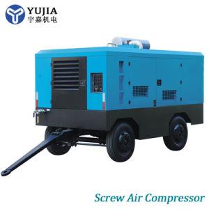 Ölfreie bewegliche Dieselhochdruckschrauben-Drehluftverdichter