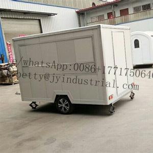 Neue Ankunfts-mobile Imbiss-Nahrungsmittelkarren mit Rädern