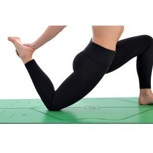 Hotest No-Slip Estera Del Yoga Deporte TPE Estera Del Yoga Para Fitness Gimnasia Pilates