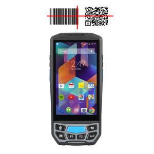 4G/3G/2g G/M Bluetooth/WiFi/Rugged PDA mit androidem OS, 5.0inch IPS Farbbildschirm, Psam TF SIM, GPS GPRS, Code-Barcode-Scanner Honeywell-6603 2D Qr, Leser LF-125K